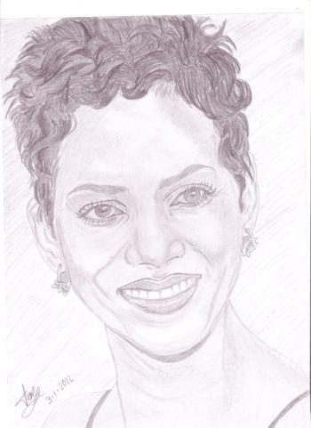 Halle Berry by viajerainfatigable